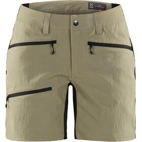 Haglöfs Rugged Flex - Shorts Femme - beige/noir